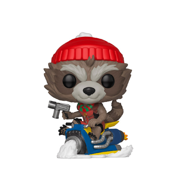 Marvel : Holiday - Rocket (Holiday) #531 Funko POP! Vinyl Figure