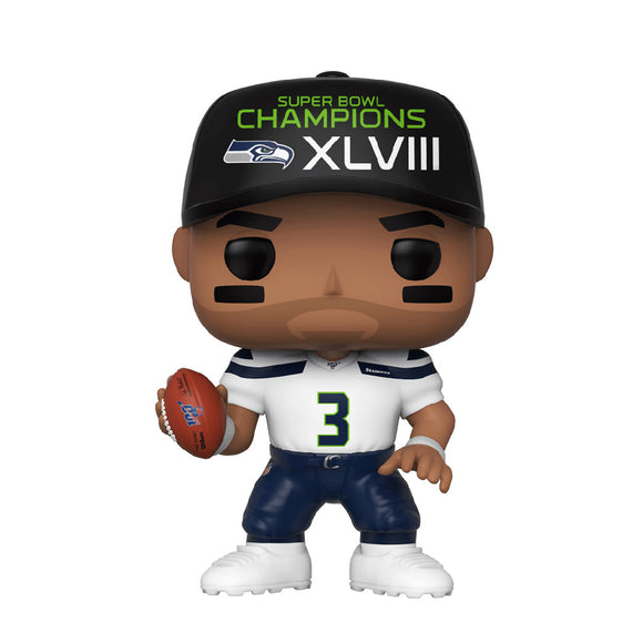 Football : Seahawks - Russell Wilson Super Bowl Champions #57 Funko POP! Vinyl Figure