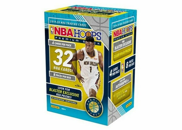 2019-20 : Panini Hoops Premium Stock Basketball Blaster Box