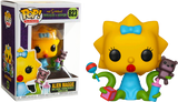 Television : The Simpsons Treehouse of Horror - Alien Maggie #823 Funko POP! Vinyl Figure