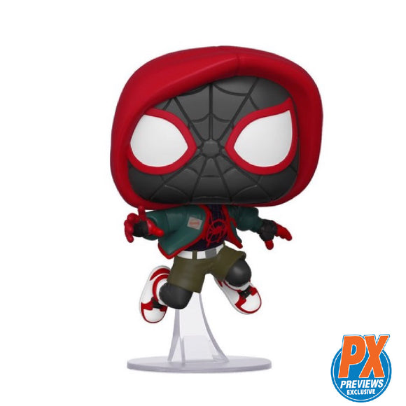 Marvel : Spider-Man Into the Spiderverse - Miles Morales #529 Exclusive Funko POP! Vinyl Figure