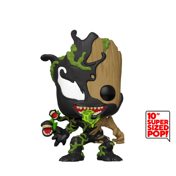 "Marvel : Spider-Man Maximum Venom - Venomized Groot 10"" Funko POP! Vinyl Figure Preorder"