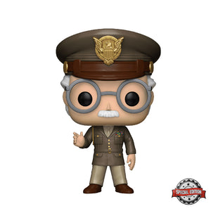 Marvel : Captain America The First Solider - Stan Lee General #282 Exclusive Funko POP! Vinyl Figure