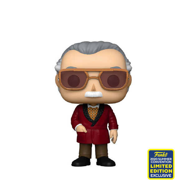 Marvel : Iron Man - Stan Lee #656 Exclusive Funko POP! Vinyl Figure