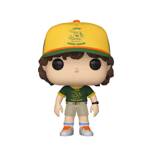 Television : Stranger Things - Dustin (Camp) #804 Funko POP! Vinyl Figure