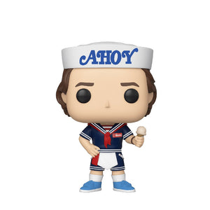 Television : Stranger Things - Steve with Ice Cream #803 Funko POP! Vinyl Figure