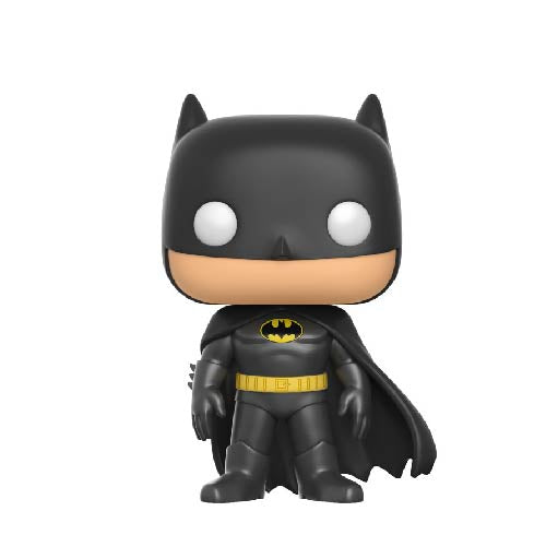 Heroes : DC Super Heroes - Batman (Classic Black) #144 Funko POP! Vinyl Figure