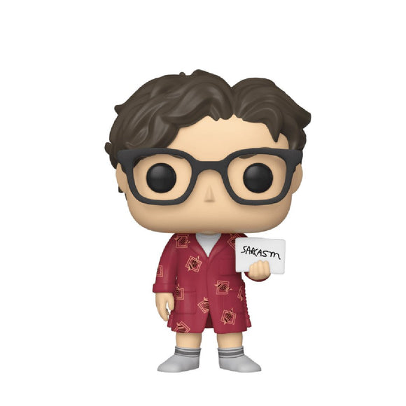Television : The Big Bang Theory - Leonard Hofstadter in Robe #778 Funko POP! Vinyl Figure