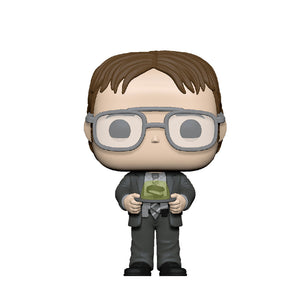 Television : The Office - Dwight Schrute with Jello Stapler #1004 Funko POP! Vinyl Figure