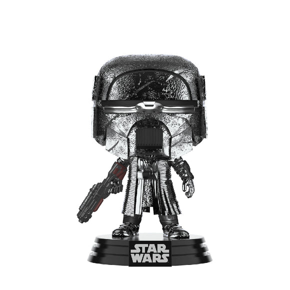Star Wars : The Rise of Skywalker - Knight of Ren (Blaster Rifle) Hematite Chrome #331 Funko POP! Vinyl Figure