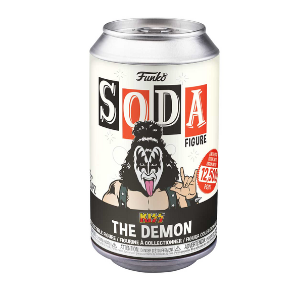Funko Soda : Kiss - The Demon Vinyl Figure