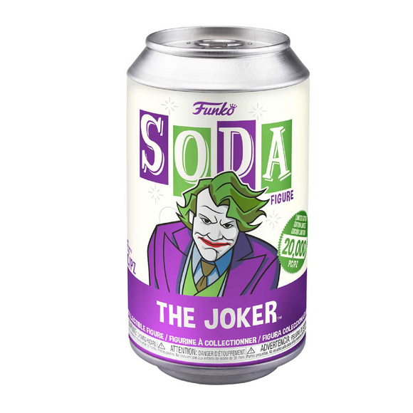 Funko Soda : The Joker Vinyl Figure