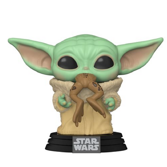 Star Wars : The Mandalorian - The Child with Frog Funko POP! Vinyl Figure Preorder