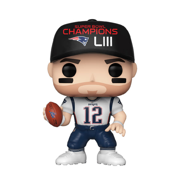 Football : Patriots - Tom Brady Super Bowl Champions #137 Funko POP! Vinyl Figure