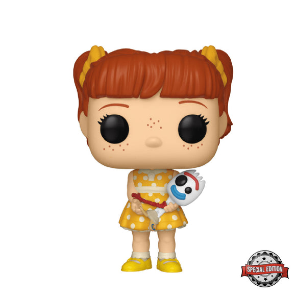 Disney : Toy Story 4 - Gabby Gabby holding Forky #537 Exclusive Funko POP! Vinyl Figure