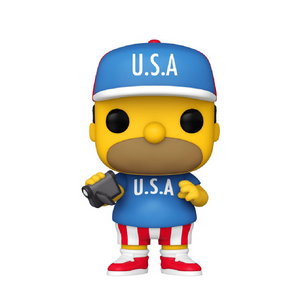 Television : The Simpsons - U.S.A. Homer #905 Funko POP! Vinyl Figure
