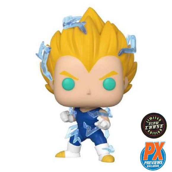 Animation : Dragonball Z - Super Saiyan 2 Vegeta PX Exclusive Chase GITD #709 Funko POP! Vinyl Figure