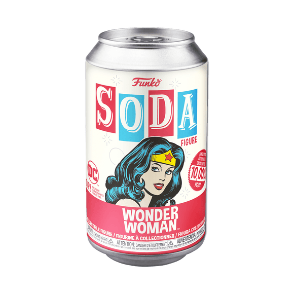 Funko Soda : DC - Wonder Woman Vinyl Figure