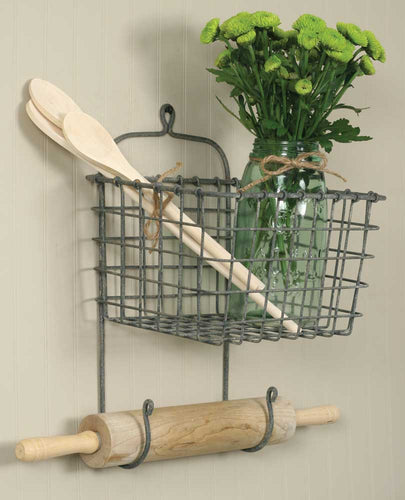 Sale! Miners Basket - Barn Roof Gray