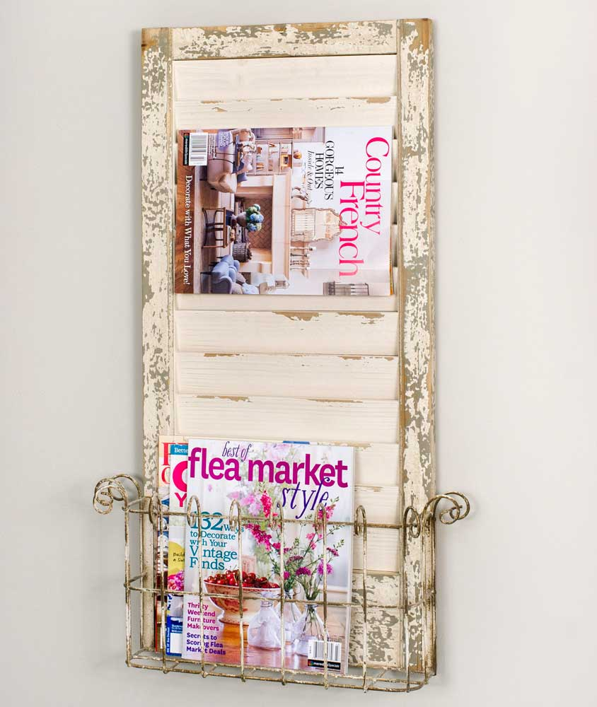 Sale! Shutter Magazine Rack