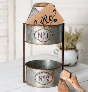 Sale! No 1 Two Tier Tabletop Caddy