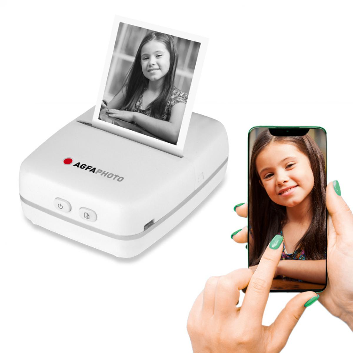 Introducing the new AGFAPHOTO Realpix Personal Bluetooth Printer