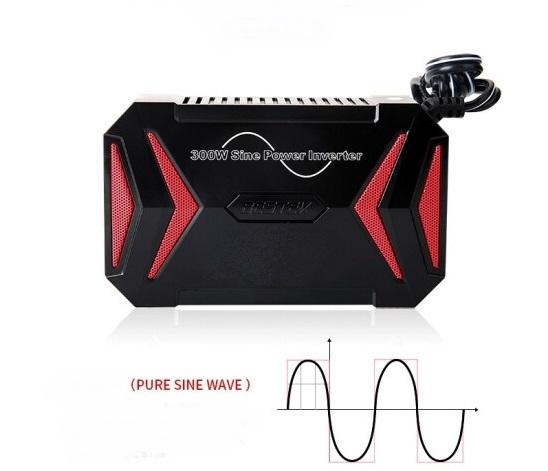Quality 300W Pure Sine Wave 12V Portable Power Inverter 12 month warranty applies Tech Outlet