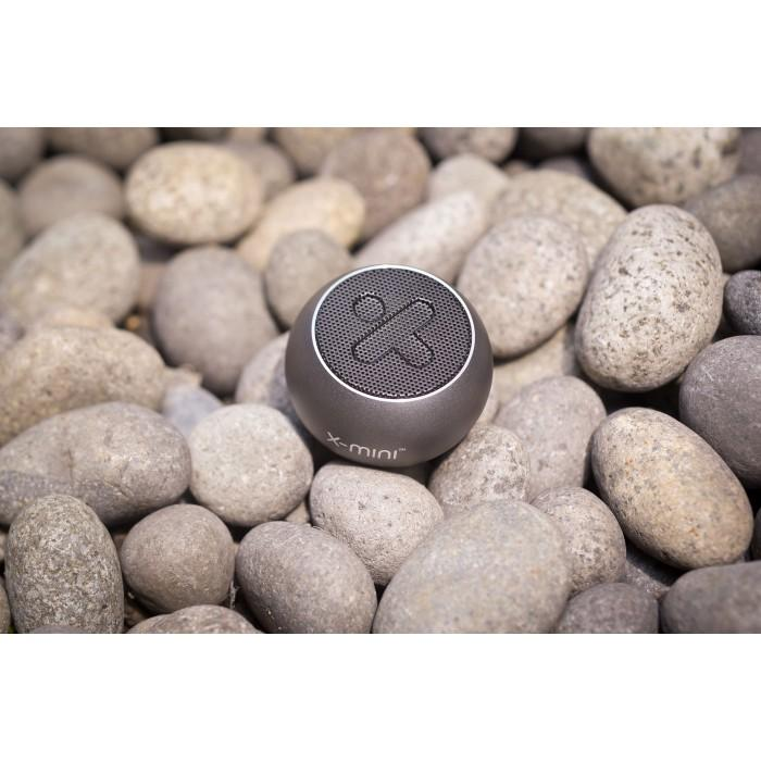 X-Mini Click 2 Portable Bluetooth Speaker - Mystic Grey