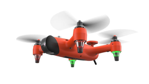 SPRY + The Compact Water resistant & floating drone 12 month warranty applies Swellpro
