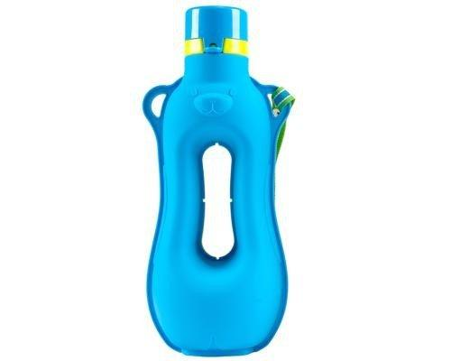 Aquarius Silicon Fitness Water Bottle - with easy grip