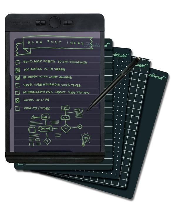 Boogie Board Carbon Copy™ + Blackboard Note Pack 12 month warranty applies Boogie Board