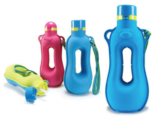 Aquarius Silicon Fitness Water Bottle - with easy grip 12 month warranty applies Tech Outlet