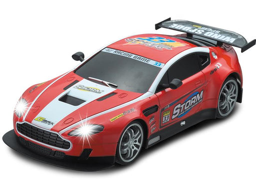 Red Aston Martin RC Touring Car : Large 1:12 Size 3 month warranty applies Tech Outlet