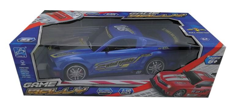 Blue Mustang RC Touring Car : Large 1:12 Size 3 month warranty applies Tech Outlet