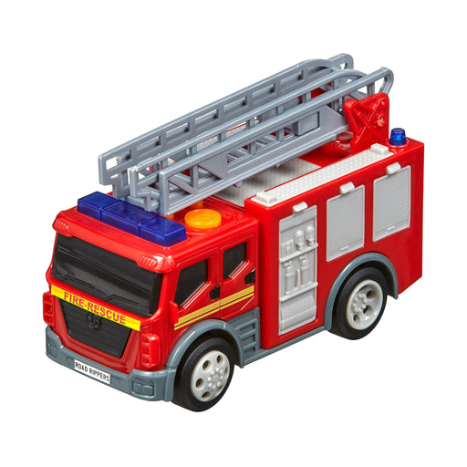 "Road Rippers Rush & Rescue 5"" : From Nikko Toys 3 month warranty applies Nikko Fire Ladder Truck"