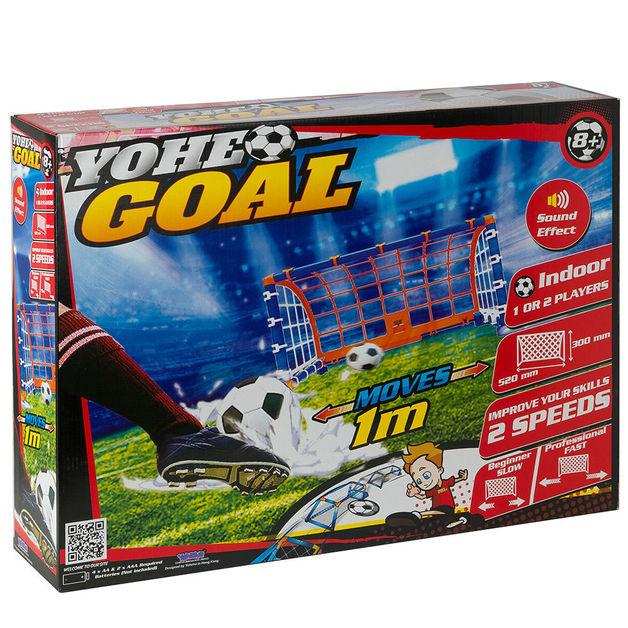 YOHE GOAL - Mini Football Game 3 month warranty applies Tech Outlet