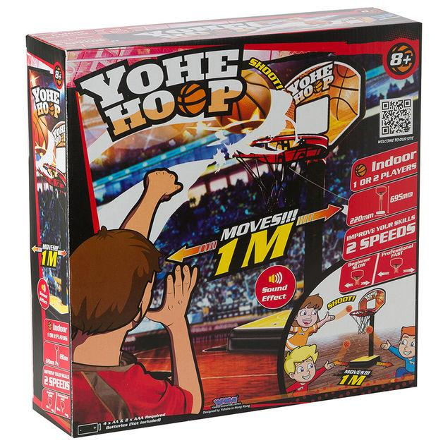 YOHE HOOP - Mini Basketball Game 3 month warranty applies Tech Outlet