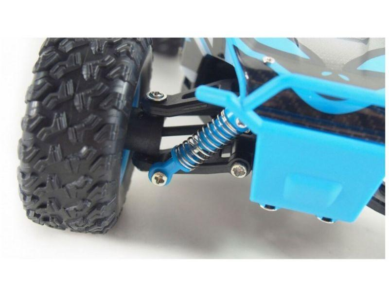 HB Toys Electric Desert Truck RC Off Roader Blue 3 month warranty applies Tech Outlet