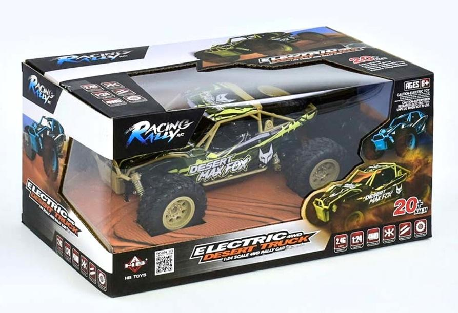 HB Toys Electric Desert Truck RC Off Roader Camo Colour