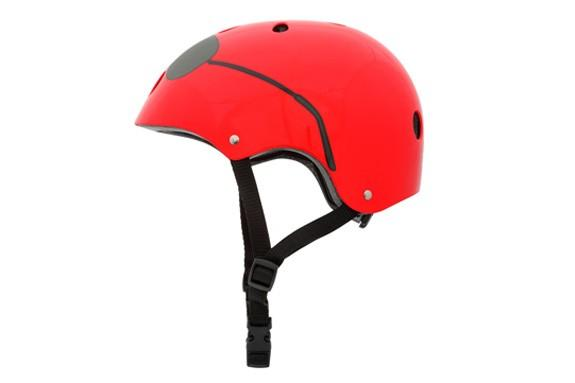Mini Hornit LIDS Children's Bicycle & Scooter Helmet with Flashing Safety Lights - The Aviator Style