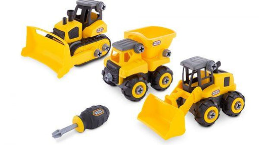"MACHINE MAKER Junior Builder 8""/20cm Individual Vehicles : Build it yourself STEAM Toy 3 month warranty applies Nikko"