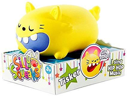 Silly Squeaks Squishy Musical Toy - Tisker
