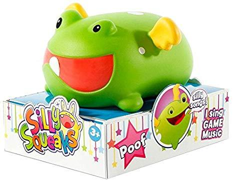 Silly Squeaks Squishy Musical Toy - Poof