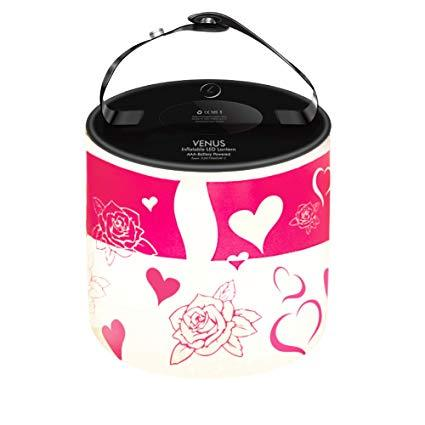 Venus Inflatable LED Lantern - Hearts & Roses