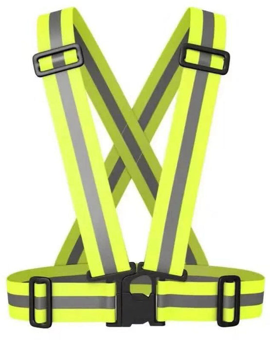Safety High Visibility Reflection Vest - for outdoor, running, cycling and industrial use 12 month warranty applies Tech Outlet