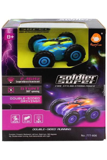 Mini RC Stunt Car : Amazing Speed & Stunts in a small package! 3 month warranty applies Tech Outlet