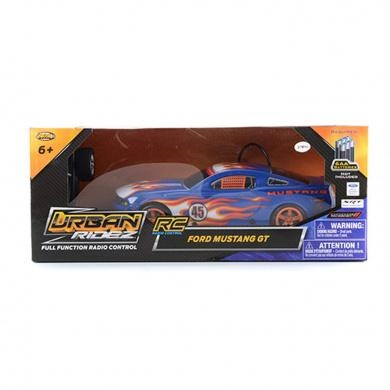 URBAN RIDEZ Ford Mustang GT RC Race Car - Blue 3 month warranty applies Tech Outlet