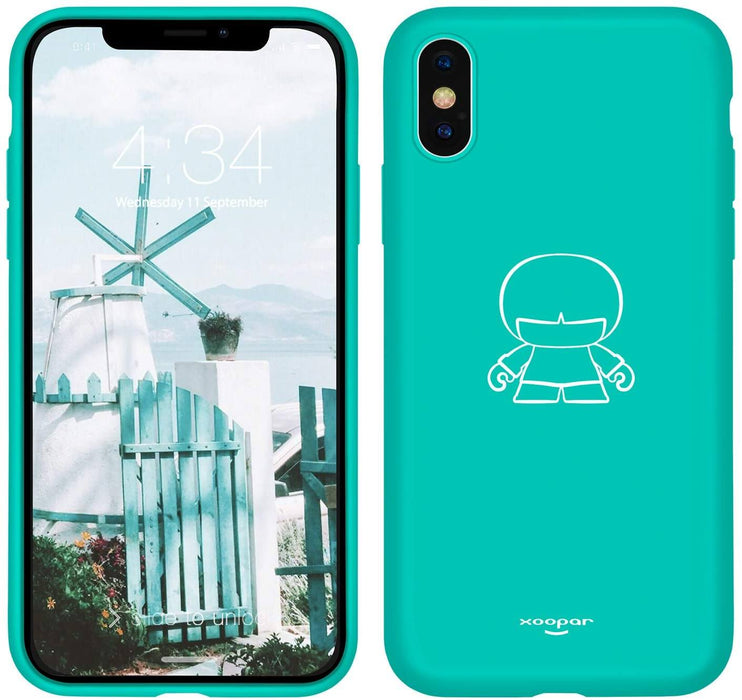 "Xoopar IPhone X/XS Case - to fit 5.8"" Screens : Bright Vibrant Colours 12 month warranty applies Xoopar Green"