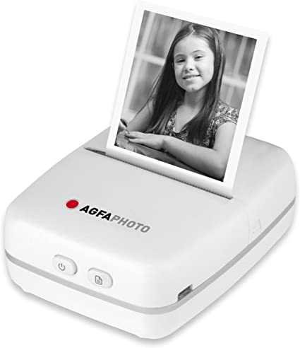 AGFAPHOTO RealiPix Bluetooth Pocket Printer 12 month warranty applies AGFA