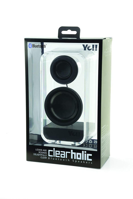 Ye!! Clearholic Transparent Speaker - Black